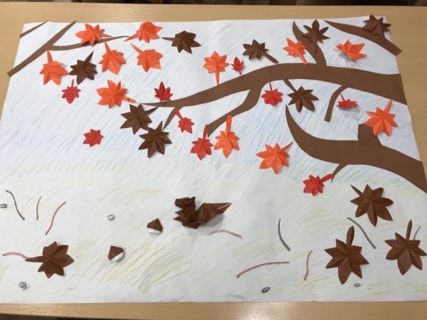 ☆秋の壁画☆