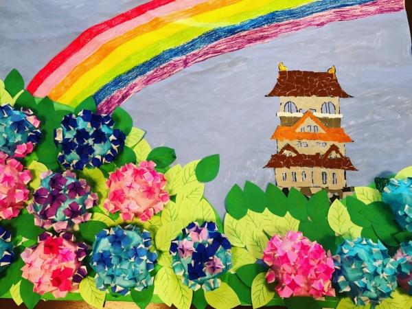 ☆6月の壁画☆